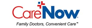 CareNow Logo with tag line tm